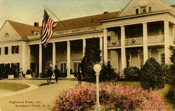 Highland Pines Inn (postcard)