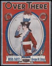 Over There (sheet music)