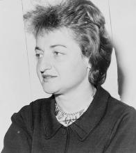 This is a 1964 photograph of Betty Friendan.