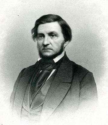 Engraving of Kenneth Rayner, circa 1850. Image from the North Carolina Museum of History.
