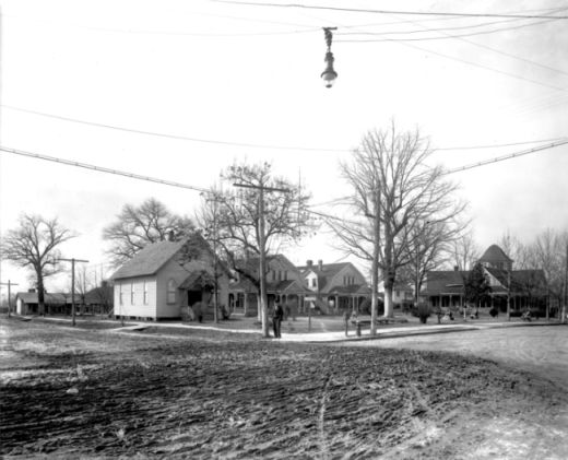 """Old Soldiers Home, Raleigh, NC, c.1910."" Call #: N_53-15_7905. Photo courtesy of the North Carolina State Archives."