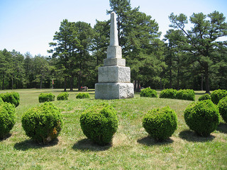 """Alamance Battleground Monument."" Image courtesy of Flickr user Todd Martin."