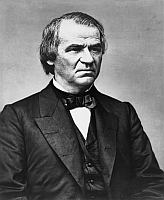 Portrait of Andrew Johnson