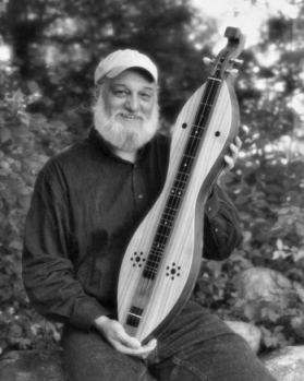 Don Pedi of Marshall with his dulcimer. Ed Pedi Photography.