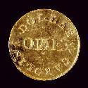 Bechtler gold coin, $1, made between 1834-1842. Courtesy of the North Carolina Museum of History.