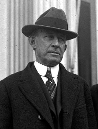 A 1924 photograph of James Crawford Biggs. Image from the Library of Congress.