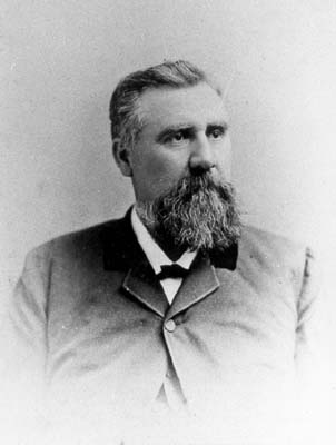A photograph of William Thomas Blackwell. Image from the Durham County Library.