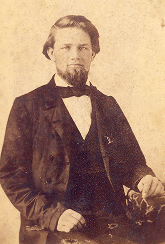 A photograph of Henry Clay Bourne. Image courtesy of the Edgecombe County Memorial Library.