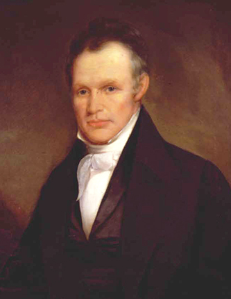 An 1845 portrait of Newton Cannon by Washington B. Cooper. Image from the Tennessee Portrait Project.