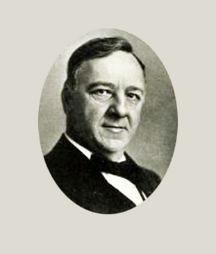 Photograph of Josephus Daniels, in the University of North Carolina yearbook <i>Yackety Yack 1920.</i>  From DigitalNC.org.