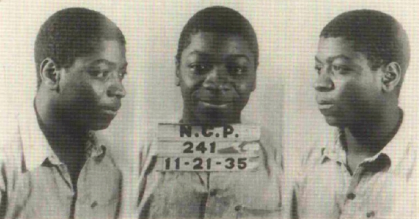 """Circa 1935: Allen Foster. Allen Foster, first person executed by lethal gas in North Carolina. (Image courtesy of State Archives, North Carolina Office of Archives and History, Raleigh, N.C.)"