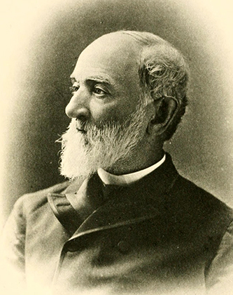 A photograph of Daniel Reaves Goodloe published in 1889. Image from the Internet Archive.