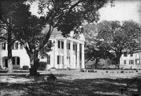 "The Orton Plantation house, 1900. ""Photograph, Accession #: H.19XX.135.228."" 1900. North Carolina Museum of History."