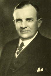 Photograph of John Hosea Kerr. Image from the Biographical Directory of the United States Congress.