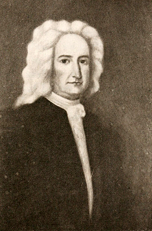 Portrait believed to be of governor Philip Ludwell. Image from Archive.org.
