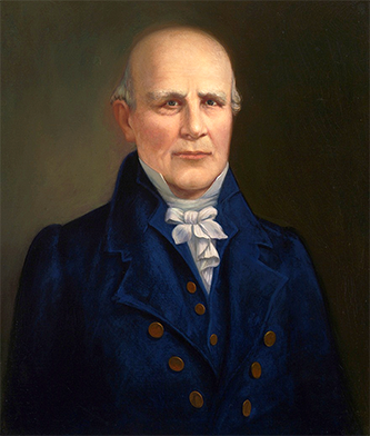 A 1911 portrait of Nathaniel Macon by Robert D. Gauley. Image from the U.S. House of Representatives.