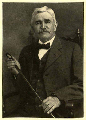 Photographic portrait of James Columbus Steele, from his <i>Sketches of the Civile War</i>, published 1921 by Brady Printing Company, Statesville, NC.  From the General Collection of the State Library of North Carolina.