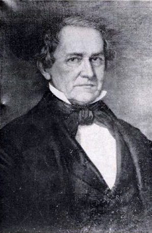 A photograph of a portrait of Robert Strange, Jr. Image from the North Carolina Museum of History.