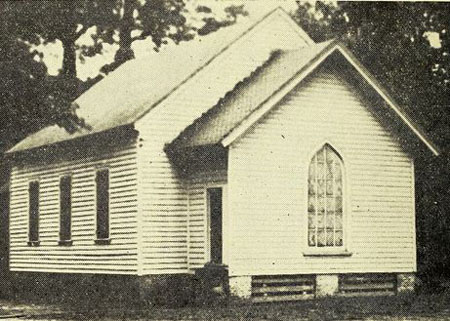 Bellamy was instrumental in the organization of the NC Annual Conference of the Methodist Protestant Church at Witakers Chapel, 1828. Image courtesy of History of the North Carolina annual conference of the Methodist Protestant church.