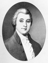 Portrait of William Blount. Couresty of the Biographical Directory of the United States Congress.