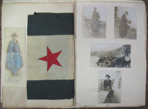 Nell Battle Lewis' scrapbook. From the Kemp Plummer Lewis papers, UNC Libraries.