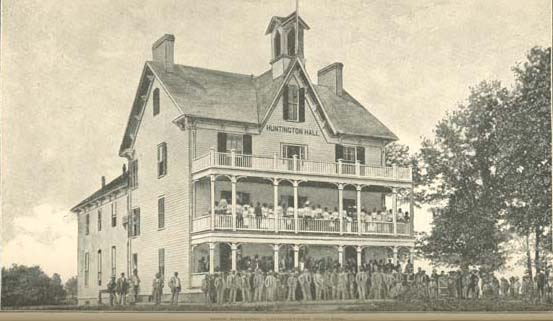 Main Building- Livingtone College, 1888. Image courtesy of DocSouth, UNC Libraries.