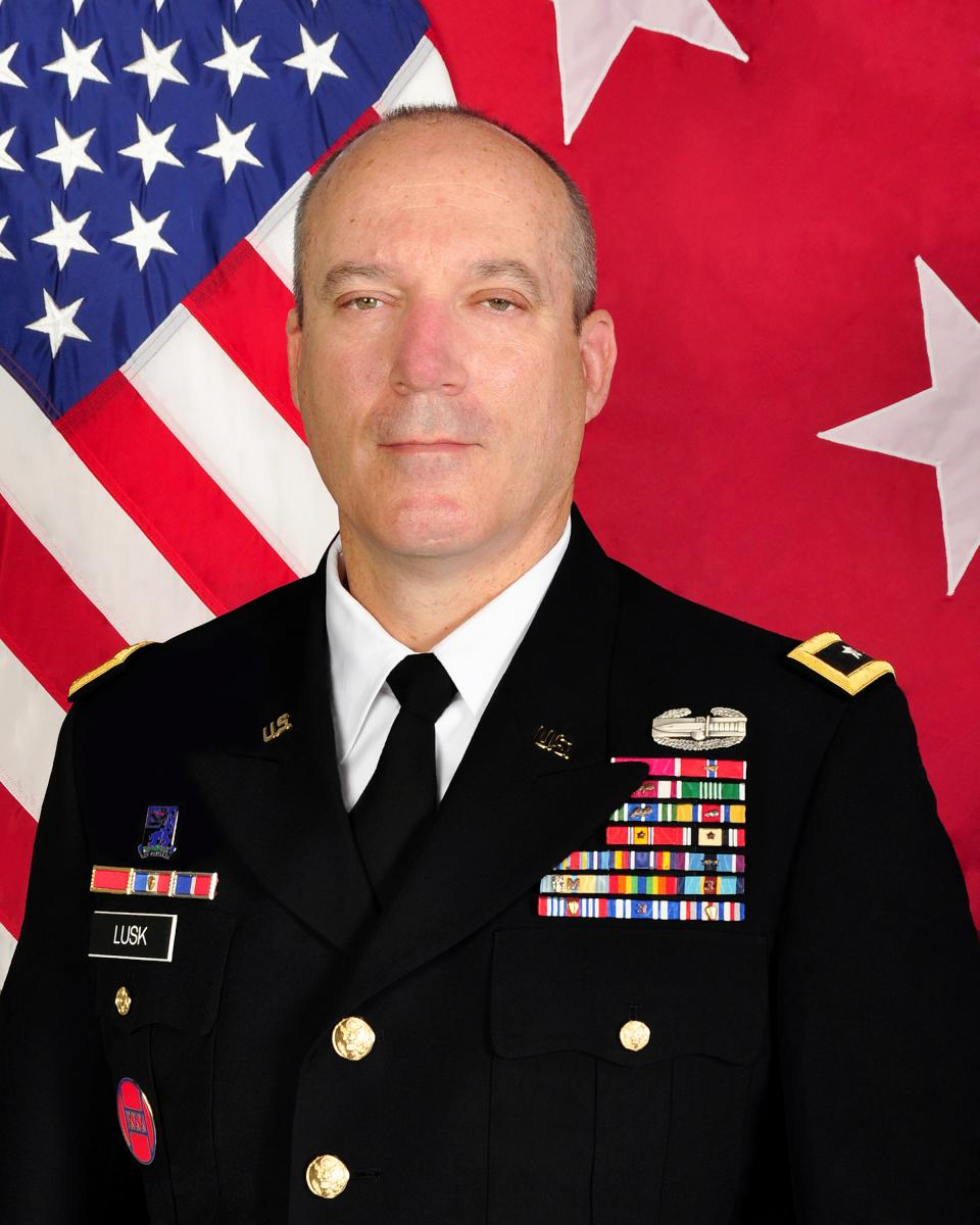 Major General Gregory A. Lusk, Adjutant General of North Carolina, assumed role in 2010.