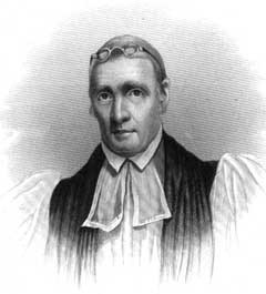 Bishop John S. Ravenscroft, 1772-1830. Image courtesy of NC Office of Archives and History.